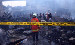 Tiga Kebakaran Landa Jakarta di Hari Lebaran