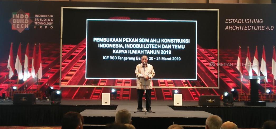 Menteri Perekonomian Acungi Jempol untuk Acara IndoBuildtech