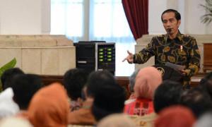 Jokowi: Tiap Partai Berhak Dukung Siapa Pun