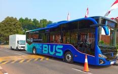 Anies Targetkan 80% Trans-Jakarta Pakai Bus Listrik Pada 2030