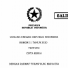 Pemerintah Tambah 8 Aturan Turunan UU Cipta Kerja