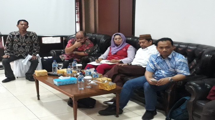 Diskusi di Wahid Foundation