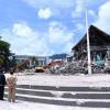 Jokowi Tinjau Kantor Gubernur Sulawesi Barat Yang Ambruk