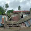 Barak Polisi Rusak Akibat Digoncang Gempa Sulbar