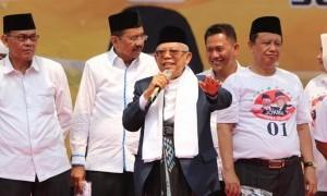 Ma'ruf Amin Serukan Masyarakat tak Ikut Aksi 22 Mei