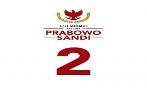 Nomor 2 Tanda Kemenangan Prabowo-Sandiaga