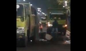 Polisi Pastikan Video Sabotase Banjir di Kramat Raya Hoaks