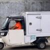 Mang Oleng, Kurir Paket Sepeda Motor Kargo
