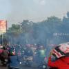 Nekat Konvoi Kawal Bus Pemain Persis, Puluhan Suporter Diamankan Polisi