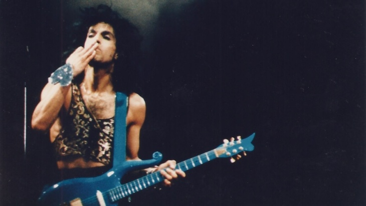 Prince pada Lovesexy tur.  (Foto: A Pop Life)