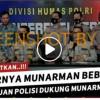 [HOAKS atau FAKTA]: Tito dan Polisi Sepakat Eks Petinggi FPI Munarman Dibebaskan