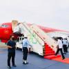 Terbang Perdana Jokowi Dengan Pesawat Kepresidenan Usai Dicat Ulang