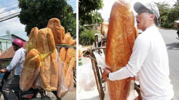 Roti Raksasa Asal Vietnam Ini Mendadak Viral, Seperti Apa Rasanya?