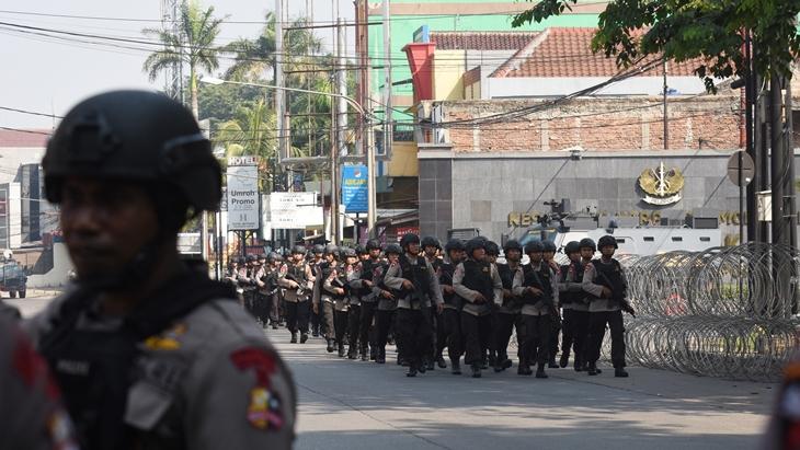 Beredar Surat Telegram Nama-nama Polisi yang Gugur di Kerusuhan Mako Brimob, Ini Daftarnya...