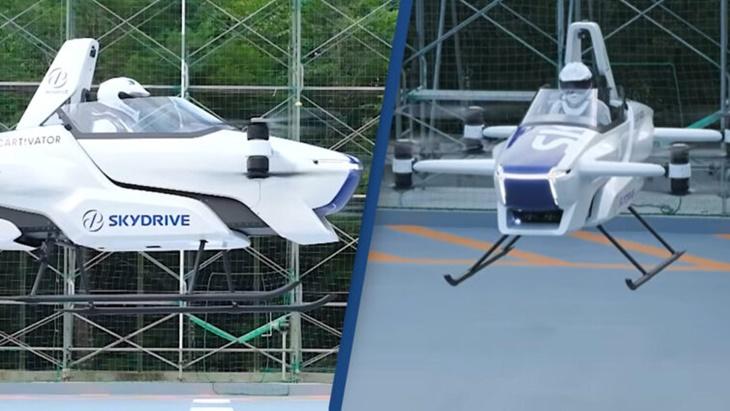 Jepang akan Produksi Mobil Terbang di 2023