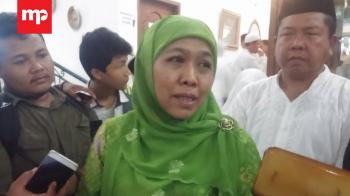 Menteri Khofifah Yakin Ustaz Jakfar 'Khusnul Khatimah'