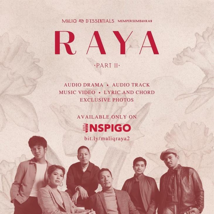 Maliq & D'Essentials Rilis Mini Album 'Raya Part II'