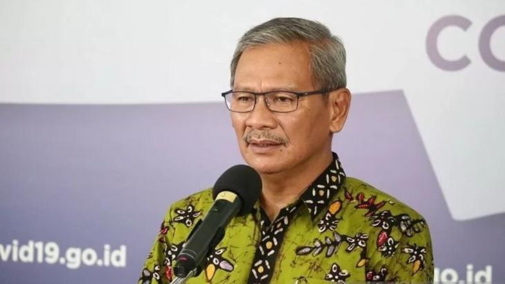 Jubir Pemerintah Achmad Yurianto ungkap lima daerah dengan kasus corona terbanyak