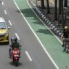Rombongan Sepeda Berkendara di Tengah Jalan Sudirman, Ini Kata Polisi