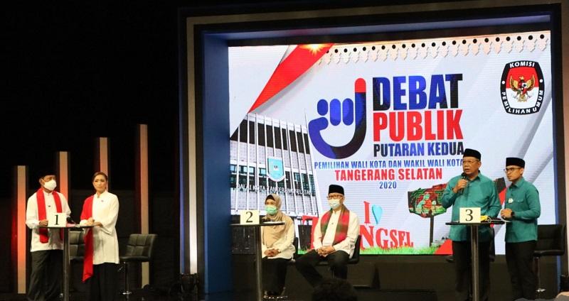 Kandidat Pilkada Tangsel. (Foto: KPU Tangsel).