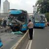 Polisi Periksa Sampel Darah Sopir Transjakarta yang Tewas karena Kecelakaan