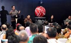 Jokowi Sambangi Bursa Efek Indonesia