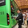 Transjakarta Uji Coba Bus Listrik Balai Kota-Blok M, Angkut Galon Air dan Masyarakat