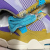 """Intip Tampilan Sepatu Union LA x Air Jordan 4 """"Desert Moss"""""""