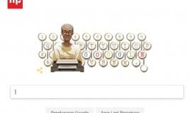 Ulang Tahun Pramoedya Ananta Toer Jadi Tema Google Doodle