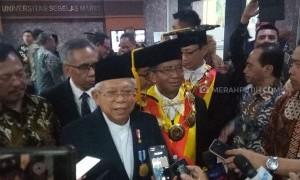 Ulang Tahun, Ma'ruf Amin Dapat Kado Penghargaan Ekonomi Syariah dari UNS Surakarta