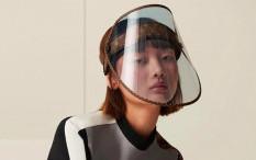 Mewah, Louis Vuitton Rilis Face Shield Seharga Rp14,4 Juta