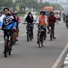 Komunitas Sepeda Padati Tempat Wisata Saat Libur Idul Adha