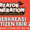Siberkreasi Netizen Fair 2019, Edukasi soal Bahaya Internet