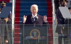 Pidato Pertama Joe Biden sebagai Presiden Amerika Serikat