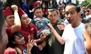 Cara Jokowi Melewati Minggu Terakhir di Tahun 2017