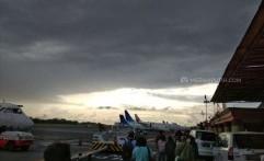 Asap Masih Tebal, Penerbangan Solo-Banjarmasin di Bandara Adi Soemarmo Ditunda