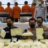 Pengiriman Narkoba 353 Kilogram dari Malaysia Diotaki Napi di Lapas Aceh