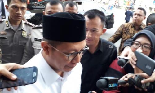 Usai Diperiksa KPK, Mantan Menag Lukman Saifuddin Bungkam