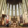 Misa Natal di Katedral Jakarta Hanya Diikuti Jemaah Yang Miliki QR Code