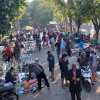 Kembali Dibuka Gibran, 14 Pasar Non-Esensial Kembali Bergeliat