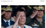 Duterte Akan Lempar Pejabat Korupsi dari Helikopter
