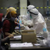 Pedagang-Karyawan Bertolak Belakang Sikapi Lockdown Akhir Pekan di Jakarta