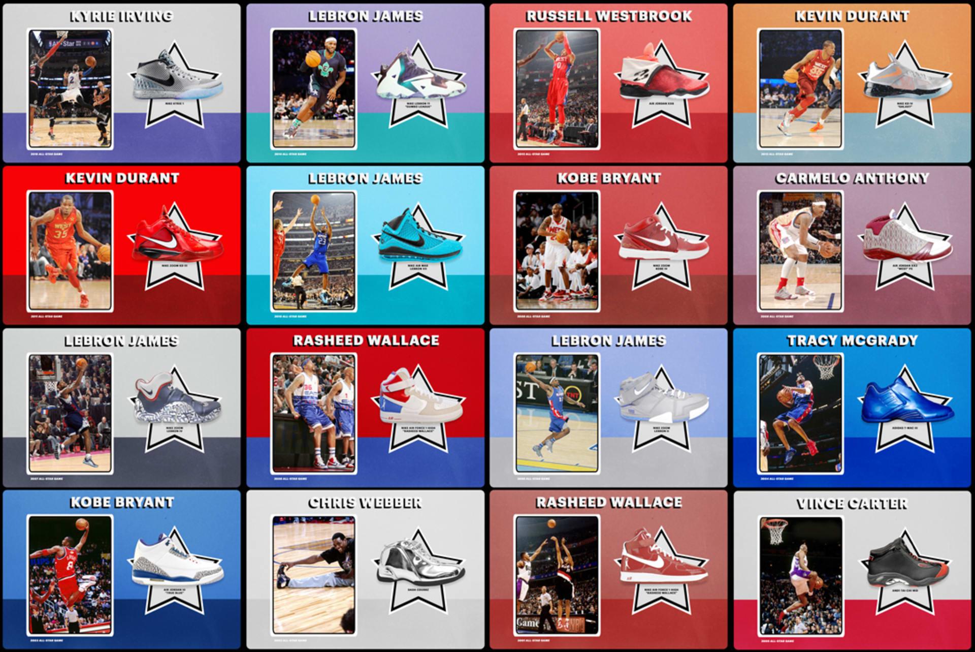 10 'Sneakers' Terbaik Sepanjang Sejarah yang Pernah Dipakai saat NBA All-Star Game