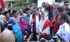 Peringatan HPN, Jokowi Yakin Media Mainstream Tak Tergilas Media Sosial