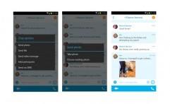 Skype dapat Mengirim Foto Walau Sedang Offline