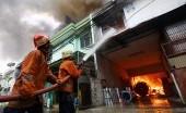 Lantai 4 Gedung Nusantara III DPR Kebakaran