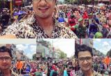 Shaheer Sheikh dan Kawan-Kawan Bangga Pakai Batik dan Belangkon
