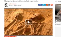 Kuburan Massal Ditemukan Dalam Supermarket