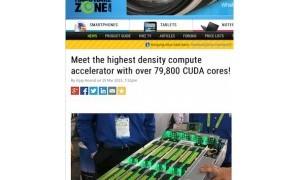 High Density Computer Accelerator Tercepat untuk Server Anda