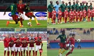 Aksi Timnas Indonesia Melawan Kamerun di Gelora Delta Sidoarjo